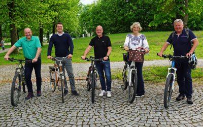 Stadtratsfraktionen fahren Fahrrad!