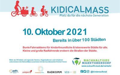 Kidical Mass in Marktoberdorf 2021