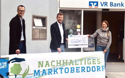 VR Bank unterstützt Stadtradeln